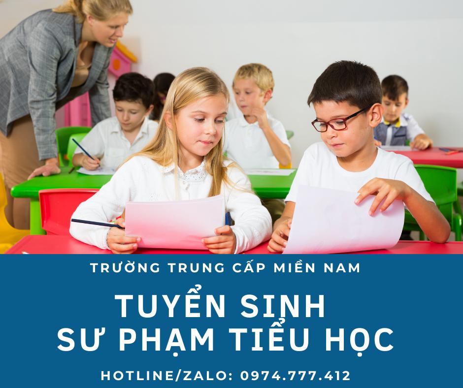 đại học sư phạm tiểu học tại Bình Phước