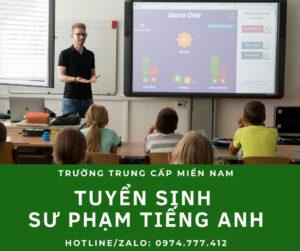 Tuyển sinh ngành Sư phạm tiếng Anh tại Bình Phước
