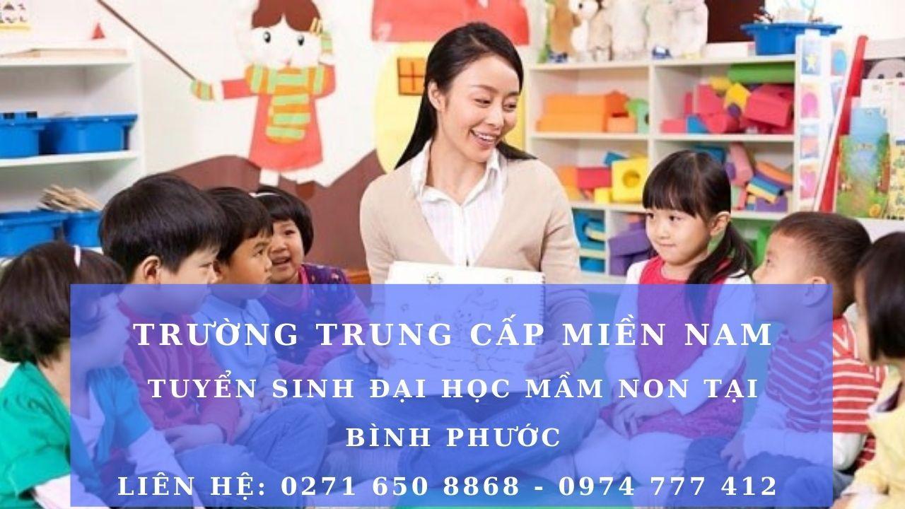 Tuyển sinh đại học sư phạm mầm non tại Bình Phước