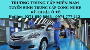 Trung cấp Công nghệ kỹ thuật ô tô tại Bình Phước