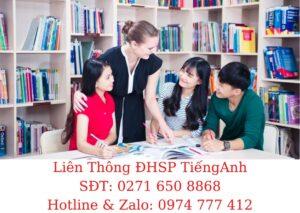 Tuyển Sinh ĐHSP Tiếng Anh