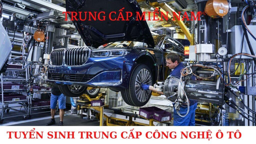 Tuyển sinh trung cấp nghề ô tô Bình Phước